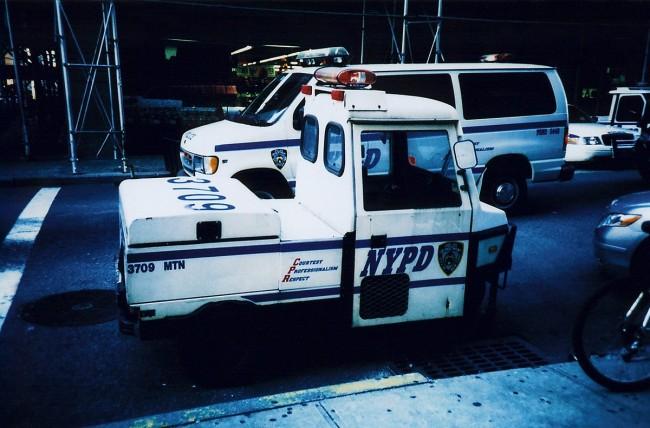 Mini NYPD car