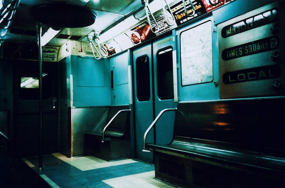 Subway carriage interior